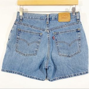 Vintage Levi's High Waist Made In USA Jean Shorts